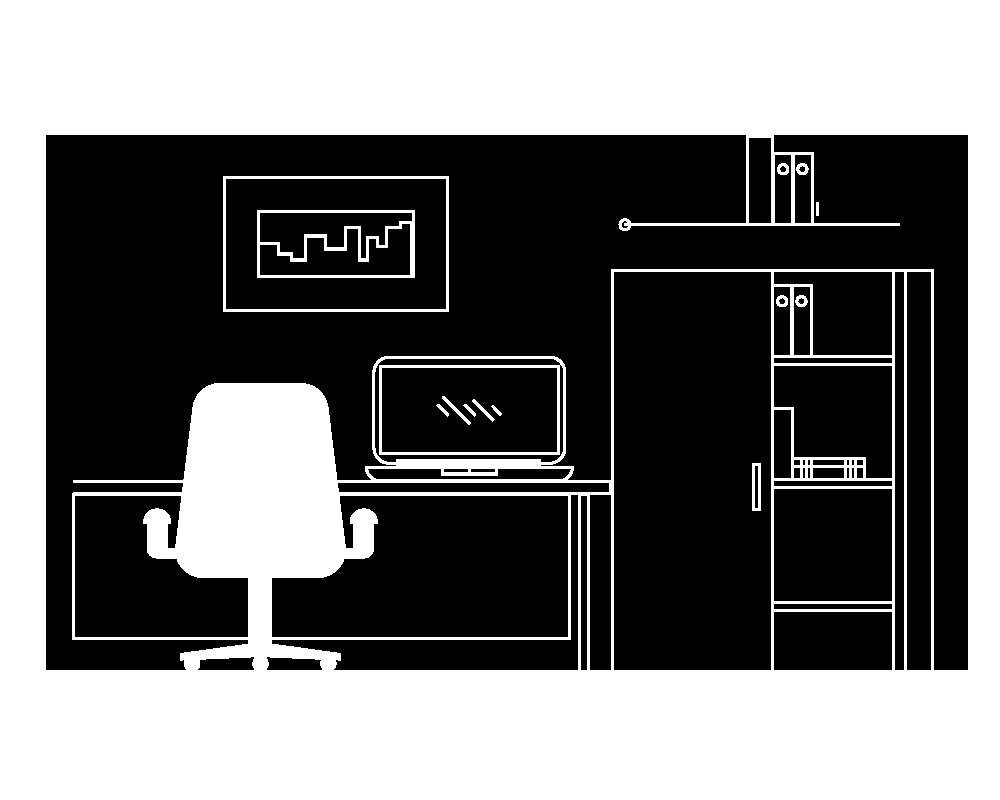 icona uffici arredati
